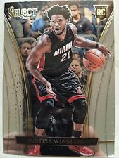 2015-16 Panini Select JUSTISE WINSLOW Courtside RC Heat Rookie SP #260