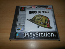 HOGS OF WAR PLAYSTATION 1 PS1 GAME NEW SEALED  pal version