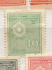 Paraguay 1927-42 Early Issue Fine Mint Hinged 10c. 282553