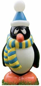 Vintage General Foam Blow Mold Chilly Willy Penguin Outdoor Christmas Holiday
