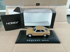 NOREV 1/43  Peugeot 304 Coupe In Gold Metallic Mint Boxed