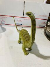 Vintage Diplodocus Dinosaur Figure Solid Rubber 1988 The Carnegie Safari LTD.