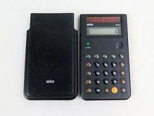 Braun  4777 Taschenrechner mit Solar