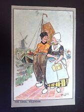 Rare ancienne Carte postale fantaisie Illustrée Lewin  Hollande