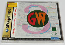 Game-Ware Vol. 3 Sega Saturn Japan JPN Game Ware 3 * Brand NEW Sealed *