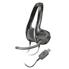 Plantronics Audio 622 Binaural USB Stereo Lightweight Noise-Canceling PC Headset