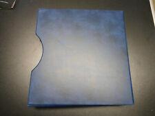 Lindner Schutzkassette 814 für 18 Ringalbum Format Vordruckblätter Farbe blau