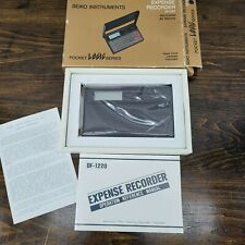 Seiko Instruments Electronic Expense Recorder Df-1220 - New in Box