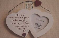 Mum Twin Hearts Photo Frame if I Could Have Chosen Anyone in The World F1194