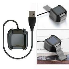 For Fitbit Versa2 Smartwatch Charging Cable TPE Cord Cradle Cover Case Accessory