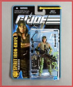 New GI Joe Pursuit of Cobra POC Toys R Us Exclusive Spirit Iron Knife