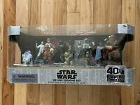 Disney Star Wars The Empire Strikes Back Deluxe Figure Play Set 40th -New In Box