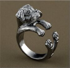 Boxer Ring Adjustable Dog and Puppy Lovers Fashion Jewelry AR-42