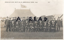 Officers Manchester Battalion Boys Life Brigade Abergele Camp 1913