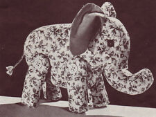 1940's VINTAGE  ELEPHANT  - COPY toy sewing pattern