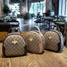 Womens Bee Leather Tote Bag Ladies Messenger Handbags Shoulder Crossbody Purse