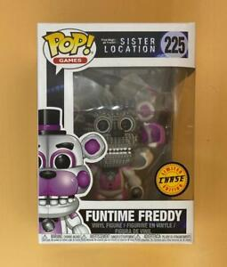 Funtime Freddy Chase Pop! Five Nights at Freddy's Funko Pop! + Protector