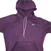 Under Armour Womens Long Sleeve Hoodie Purple Size Medium
