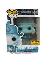 Haunted Mansion Merry Minstrel Classic Funko pop! Box #580 Disney Mansion 50th