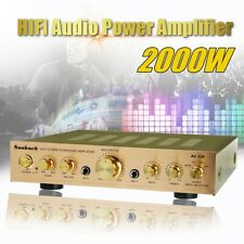2000W Stereo Power Amplifier 110V 5CH Equalizer Car Home Theater Audio Amplifier