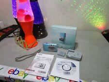 Nice Canon Blue Powershot SD1200 IS Digital Elph 10 MP Digital Camera FREESHIP