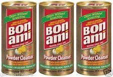3 Cans of  BON AMI America's Original Natural Home Cleaner Hypo-Allergenic 14 oz