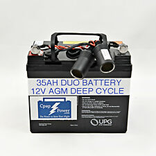 Emergency Battery Back-Up for CPAP/BIPAP -  5-8 NIGHTS POWER 35AH - BATTERY ONLY