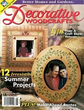 Better Homes and Gardens Decorative Woodcrafts Magazine August 2000