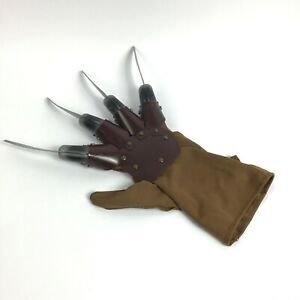 Freddy Krueger Glove Hand / Nightmare on Elm Street Horror Cosplay Rubies