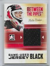 2010-11 In The Game Between the Pipes Martin Brodeur JERSEY BLACK /120