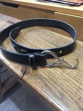 Wiley belt size 30 Us  black bridle leather