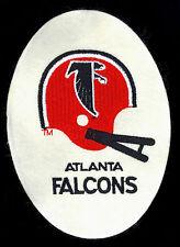 1980's Atlanta Falcons HTF Vintage NFL Felt Patch/Jacket Crest