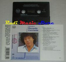 MC personale di RICCARDO COCCIANTE 1990 italy RCA CK 74437 * cd lp dvd vhs