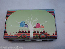 u OWL GROUP Credit Card BUSINESS CARD HOLDER CASE ID organizer wallet compact