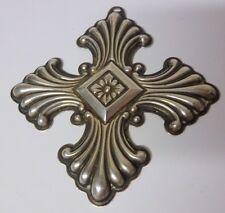 Vtg Sgnd 73s Christmas Maltese Cross Reed & Barton Sterling Silver Tree Ornament