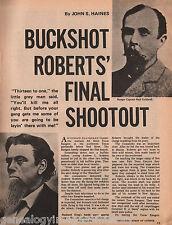 "Texas Ranger Andrew L. ""Buckshot"" Roberts+Baylor,Coldwell,Hindeman,Mosby,Swift"
