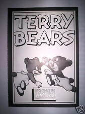 ILLUSTRATION GRAND FORMAT TERRY BEARS