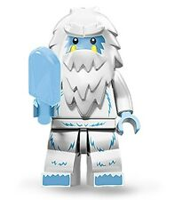 Lego collectible minifig series 11 Yeti bigfoot abominable snowman with icecream