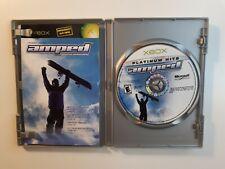Amped: Freestyle Snowboarding(Microsoft Xbox, 2001)SNOWBOARDING COMPLETE CIB !!