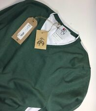 Black Fleece Brooks Brothers by Thom Browne Green Sweater Size BB2  M MSRP $400