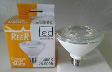 Lampada a Led E27 Par 30 250v 10W 3000K 25000h luce calda