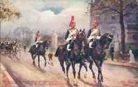 Buckingham palace; Horse guards Oilette 9081
