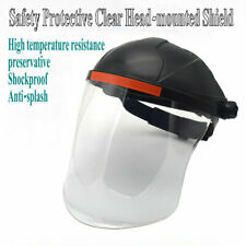 Safety Protective PC Clear Head-mounted Face Eye Shield Screen Mask