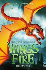Escaping Peril (Wings of Fire, Book 8) by Tui T. Sutherland (Hardcover 2015)