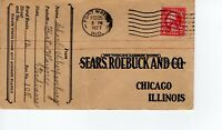 SEARS, ROEBUCK AND CO, FORT WAYNE, IND  1927    FDC7980