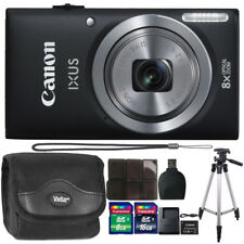 Canon IXUS 185 / ELPH 180 20MP Digital Camera with 24GB Top Accessory Kit
