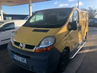 RENAULT TRAFIC DCI 100 SWB new clutch and timing belt just fitted low mileage