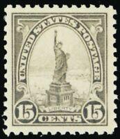 566, Mint 15¢ XF/Superb NH With PSE Graded 95 Certificate - Stuart Katz