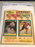 1991 Classic Hockey Card Draft Picks Complete, Set Eric Lindros ROOKIE FACTORY