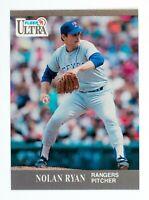 Nolan Ryan #355 (1991 Fleer Ultra) Baseball Card, Texas Rangers, HOF